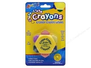 Liquimark Crayo-Craze 6-color Crayon Wheel