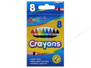 craft & hobbies: Liquimark Crayon Set 8 pc