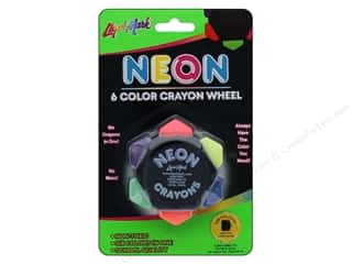 craft & hobbies: Liquimark Crayo-Craze 6-color Crayon Wheel Neon