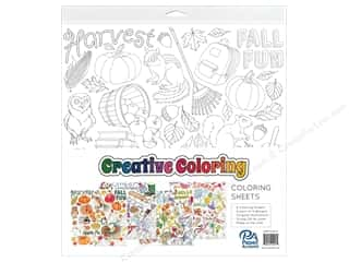 "Paper Accents Creative Coloring Paper 12""x 12"" Assortment Seasons 8pc"