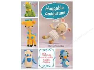 books & patterns: Huggable Amigurumi: 18 Cute and Cuddly Animal Softies Book by Shannen Chua