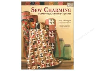 books & patterns: Sew Charming: Scrappy Quilts from 5 in. Squares Book by Mary Etherington and Connie Tesene