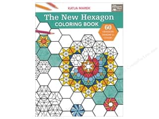books & patterns: The New Hexagon Coloring Book by Katja Marek