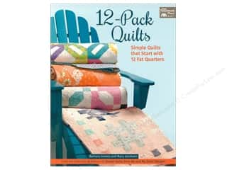 12-Pack Quilts: Simple Quilts that Start with 12 Fat Quarters Book by Barbara Groves and Mary Jacobson