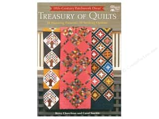 Clearance: 19th-Century Patchwork Divas' Treasury of Quilts: 10 Stunning Patterns, 30 Striking Options Book by Betsy Chutchian and Carol Staehle