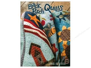 Books & Patterns: One Sister Designs Back Porch Quilts Book