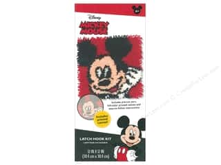yarn & needlework: Dimensions Latch Hook Kit Disney Mickey