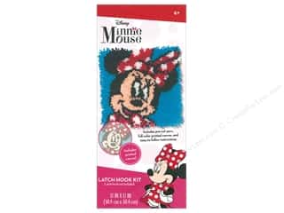 Dimensions Latch Hook Kit Disney Minnie