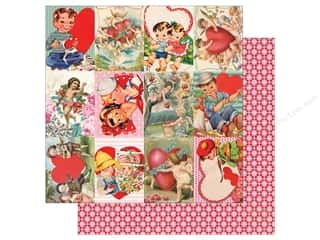 "Authentique Collection Beloved Paper 12""x 12"" Eight (25 pieces)"