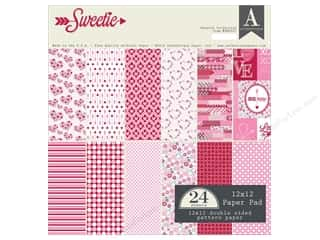 scrapbooking & paper crafts: Authentique 12 x 12 in. Paper Pad Sweetie