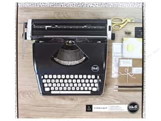 gifts & giftwrap: We R Memory Collection Typecast Typewriter Black