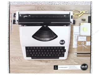 gifts & giftwrap: We R Memory Collection Typecast Typewriter White