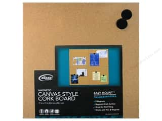 craft & hobbies: The Board Dudes Magnetic Cork Boards 17 x 17 in. Unframed