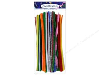 string: PA Essentials Chenille Stems Variety Pack 250 pc. Assorted Multi
