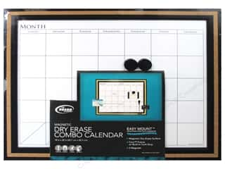 The Board Dudes Dry Erase Calendar 22 x18 in. White