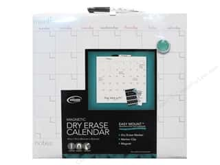 craft & hobbies: The Board Dudes Dry Erase Calendar 14 x 14 in.