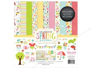 "stickers: Echo Park Collection Celebrate Spring Collection Kit 12""x 12"""
