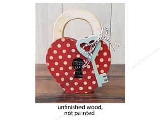Foundations Decor Wood Shape Shape Home Feb Lock & Key
