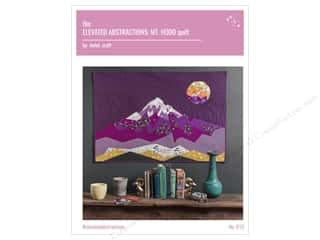 Violet Craft Elevated Abstractions Mt Hood Quilt Pattern