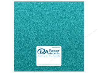 Paper Accents Glitter Cardstock 12 x 12 in. #G19 Prussian Blue (15 pieces)