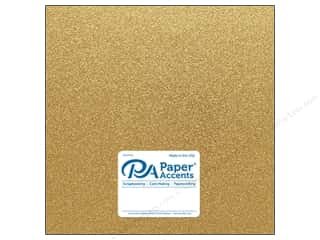 glitter paper: Paper Accents Glitter Cardstock 12 x 12 in. #G10 Gold (15 pieces)