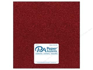 glitter paper: Paper Accents Glitter Cardstock 12 x 12 in. #G04 Red (15 pieces)
