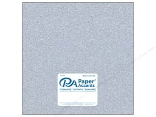 Paper Accents Glitter Cardstock 12 x 12 in. #G12 Silver (15 pieces)