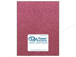 Paper Accents Glitter Cardstock 8 1/2 in. x 11 in. #G01 Pink