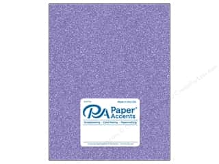 Paper Accents Glitter Cardstock 8 1/2 in. x 11 in. #G29 Lavender