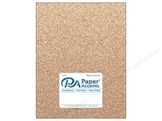 Paper Accents Glitter Cardstock 8 1/2 in. x 11 in. #G34 Sand