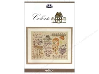 DMC Coloris Cross Stitch Pattern Sweet Home Book