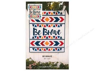Clearance: Quilted Works Be Brave Pattern