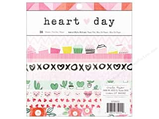 "Crate Paper Collection Heart Day Paper Pad 6""x 6"""