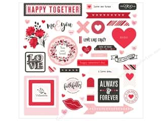 "Clearance: Photo Play Collection So Loved Sticker Element 12""x 12"" (12 pieces)"