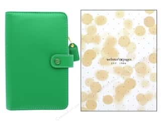scrapbooking & paper crafts: Webster's Pages Color Crush Planner Kit Personal Summer Green Boxed