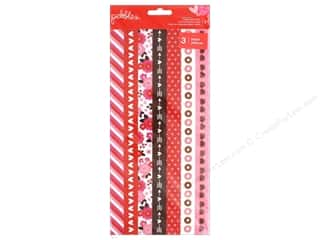 Clearance: Pebbles Collection My Funny Valentine Washi Tape Strips