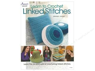 yarn: Annie's Learn To Crochet Linked Stitches Book