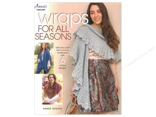 Annie's Crochet Wraps For All Seasons Book by Andee Graves