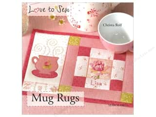 Search Press Love to Sew Mug Rugs Book