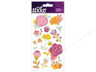 scrapbooking & paper crafts: EK Sticko Stickers Sweet Flowers