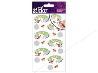 EK Sticko Stickers Boy Reveal Scratch Off