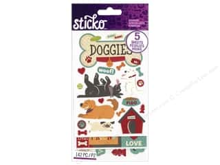 stickers: EK Sticko Stickers Flip Pack Doggies