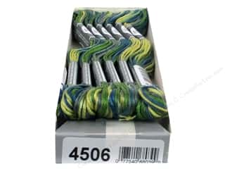 sewing & quilting: DMC Coloris Embroidery Floss Spring (6 skeins)