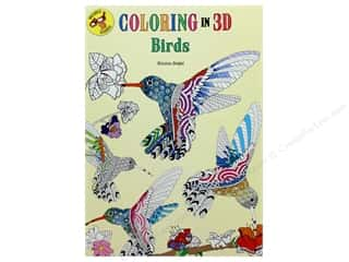 Thunder Bay Press Coloring In 3D Birds Book