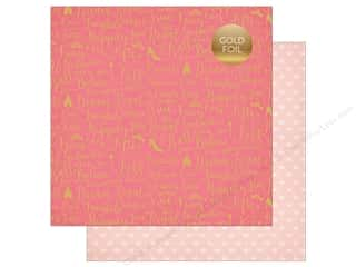 "Echo Park Collection Once Upon A Time Paper 12""x 12"" Dream Come True (25 pieces)"