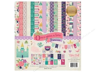"patterned paper kit: Echo Park Collection Once Upon A Time Collection Kit 12""x 12"""