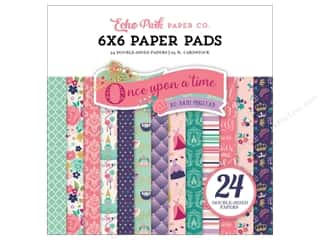 """Echo Park Collection Once Upon A Time Paper Pad 6""""x 6"""""""