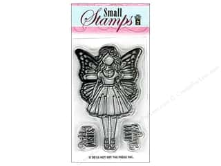 stamps: Hot Off The Press Acrylic Stamps Small Girl With Wings