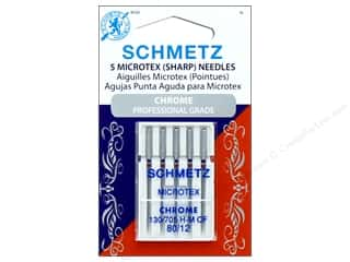 Schmetz Microtex/Sharps Needle Chrome Size 80/12 5pc