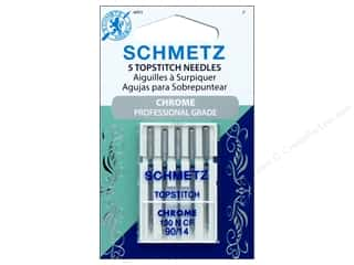 Schmetz Topstitch Needle Chrome Size 90/14 5pc
